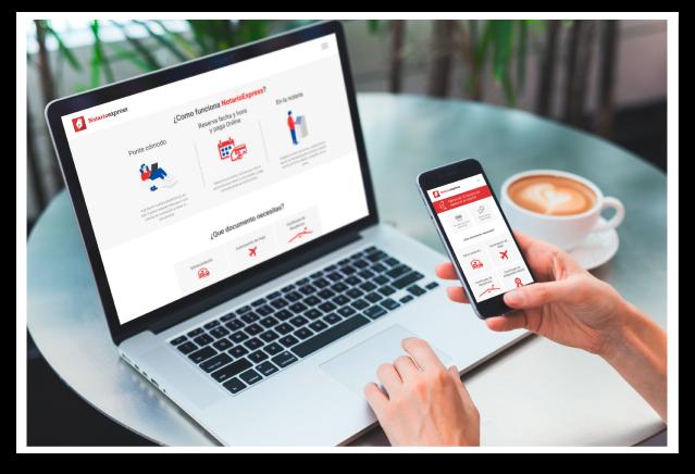 Servicios online con NotarioExpress